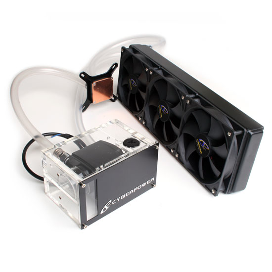 ... Inc: CyberPower Xtreme Hydro Liquid Cooling Kit 360MM w/ Triple Fan