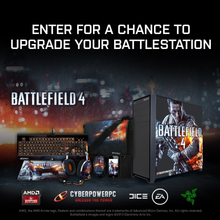 Enter for your chance to upgrade your #BF4 battle station