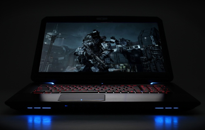 The entire input surface of the FANGbook HX7 is a sight to behold