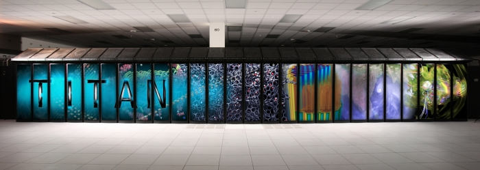 CRAY TITAN Supercomputer at Oak Ridge National Laboratories