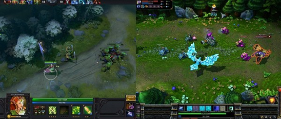 dota heroes vs league of legend's heroes
