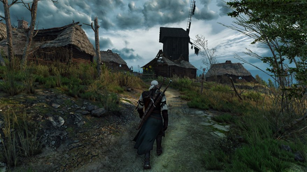witcher 3 4k Gaming Pc
