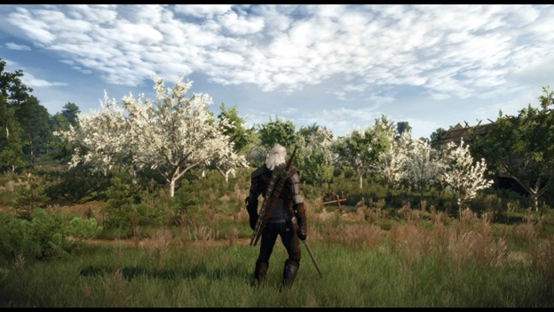 Witcher 3, Wild Hunt 4K Gaming PC