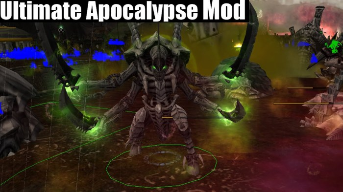 Courtesy - Ultimate Apocalypse Mod team