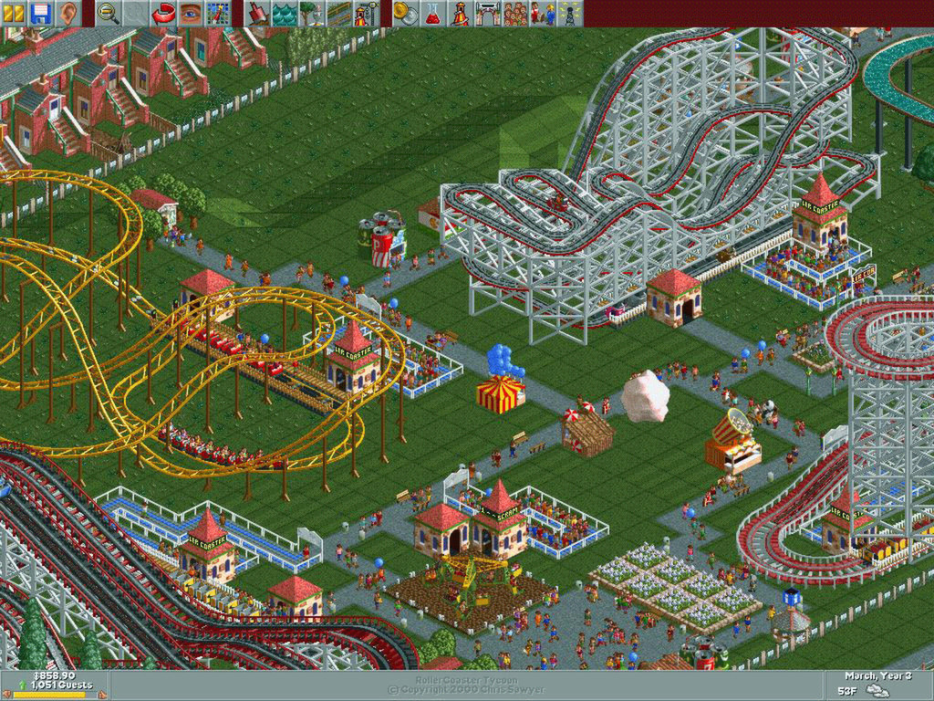 RollerCoaster Tycoon: the best-optimised game of all time ...