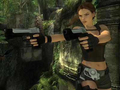 LARA CROFT TOMB RAIDER-UNDERWORLD (2008) In Game Look