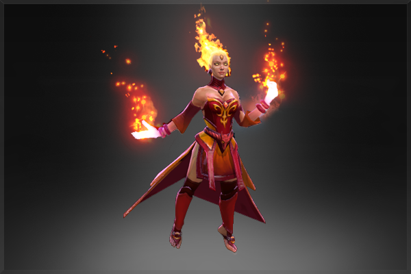 Lina: Fiery Soul of the Slayer