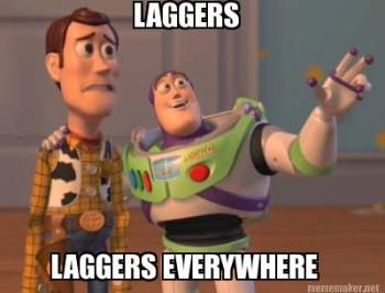 The lagger