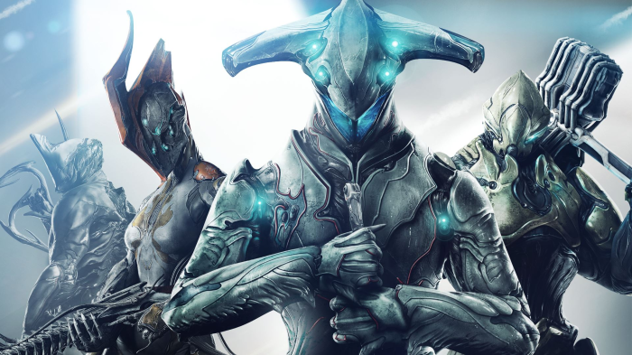 WarFrame, a Ninjas Play Free game on pc gaming console
