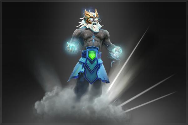 Zeus-Tempest Helm of the Thundergod