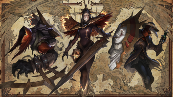 New Nocturne, Kayle, and Singed Skins