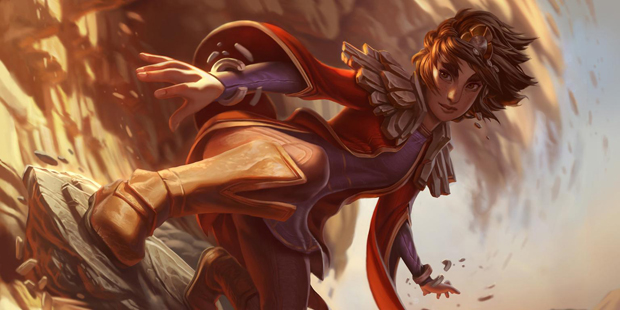 Taliyah, the stone weaver