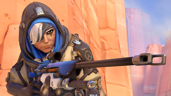 Ana, overwatch new hero