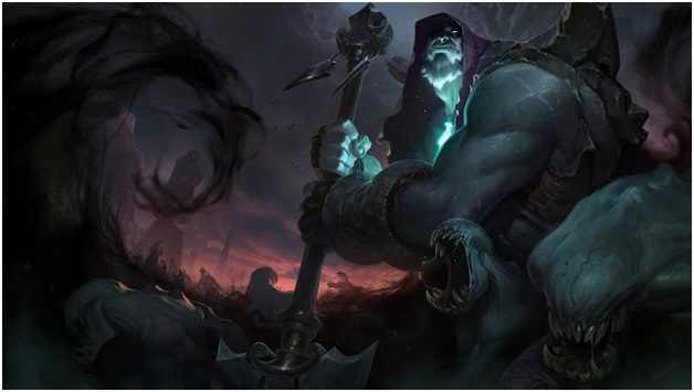 Yorick, Shepherd of the Lost Souls in League of Legends