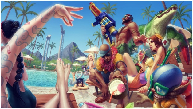 Pool Party Skins