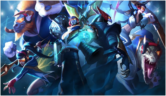 SKT 2015 League of Legends Skins