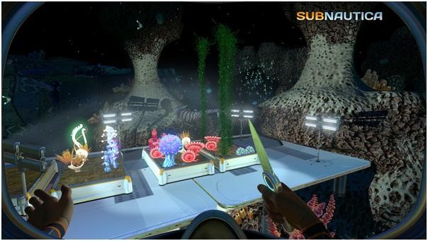 subnautica - Constructing underworld habitat