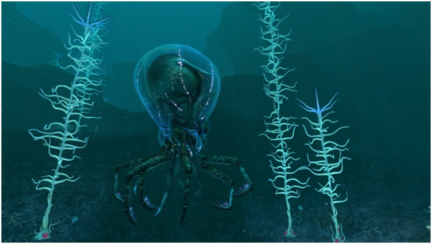 crabsquid - subnautica
