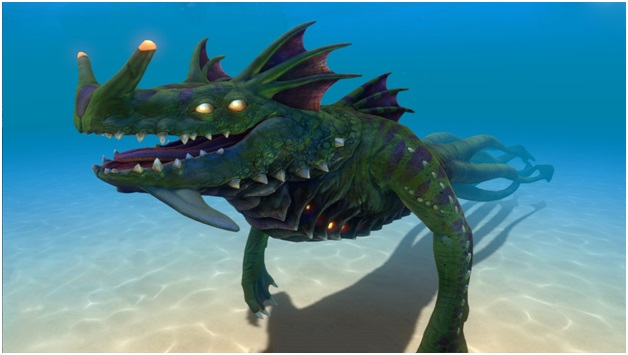 sea dragon leviathan - subnautica
