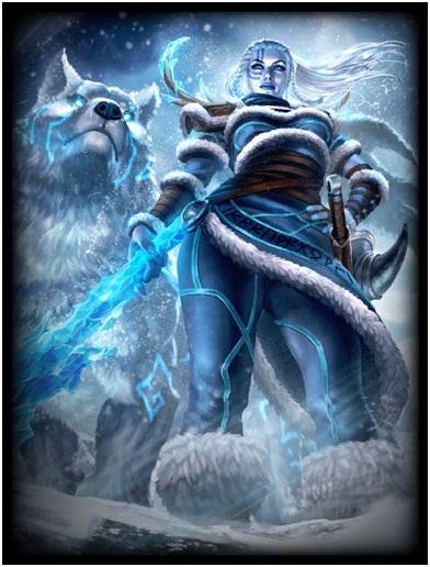Skadi, Goddess of Winter