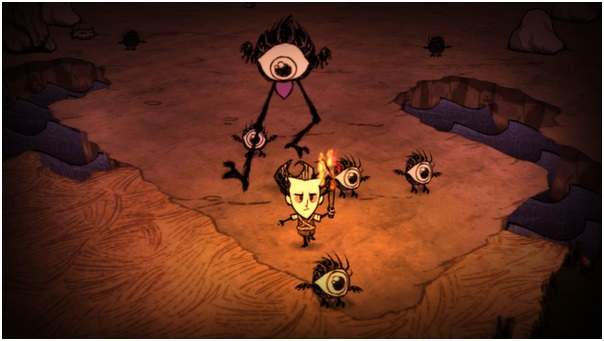 check out dont starve gameplay