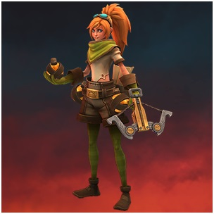 playing lucie in battlerite