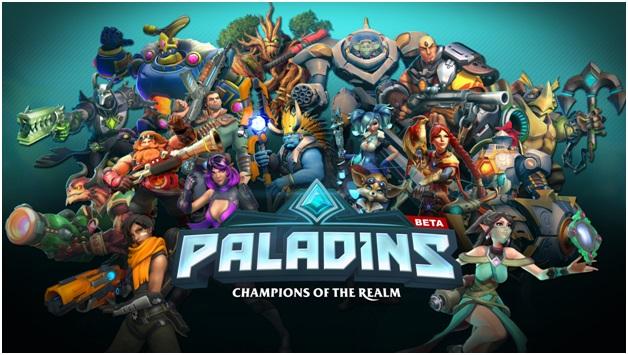 play paladins on gaming computer