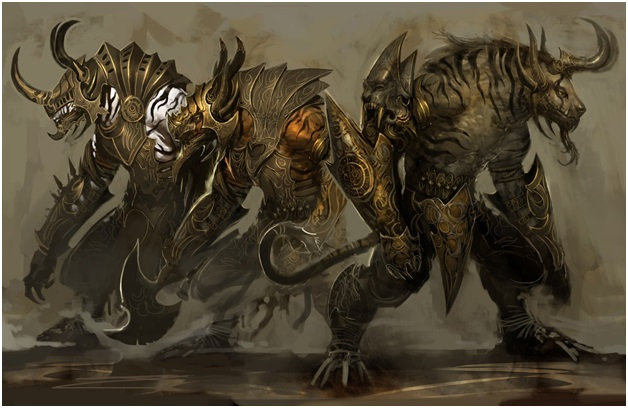 Charr in Guild of War