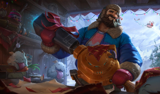 play Snow Day Graves in league of legends on gaming pc