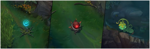 jungle plants on pre season update