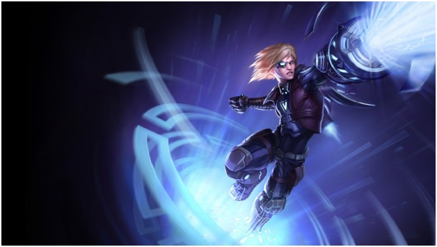 pulsefire ezreal on league of legends