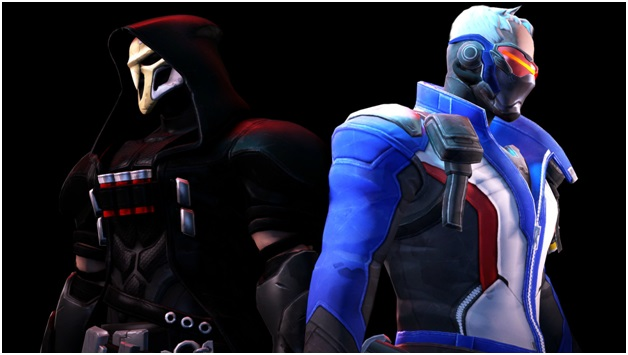 soldier 76 and reaper