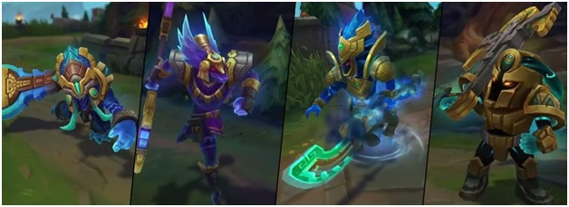 Worldbreaker Skins on League of Legends