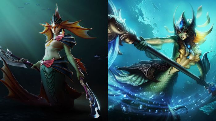 Naga Siren and Nami