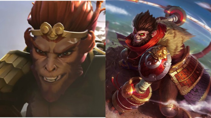 Monkey King and Wukong