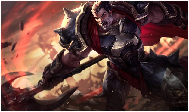 Darius on league of legends