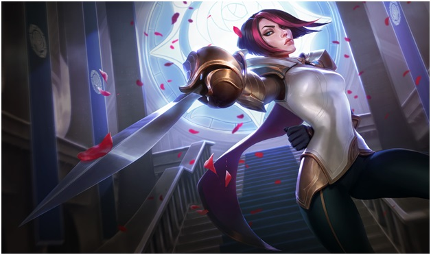 Fiora on league of legends