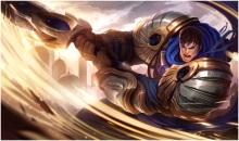 playing garen on league of legends