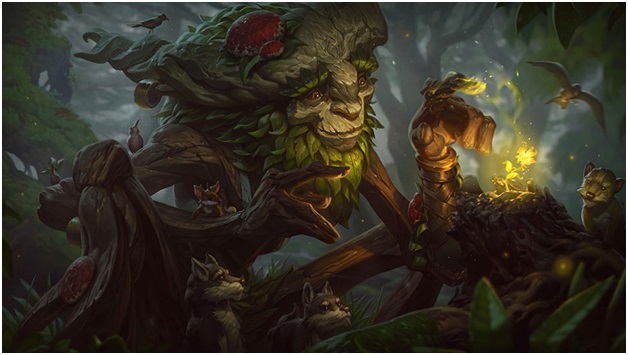 playing ivern in league of legends