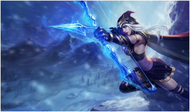 Ashe one of the League of Legend Champions