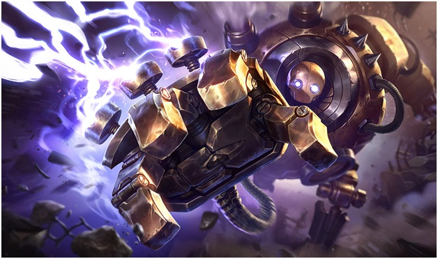Blitzcrank of League of Legends