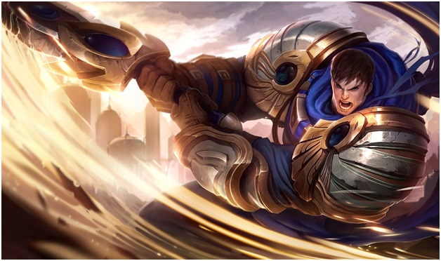Garen One of The League of Legend Champions.