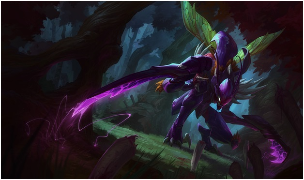 Kha'Zix One of the League of Legend Champions