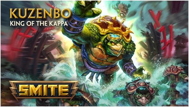 Kuzenbo, King Kappa - The Smite New Character