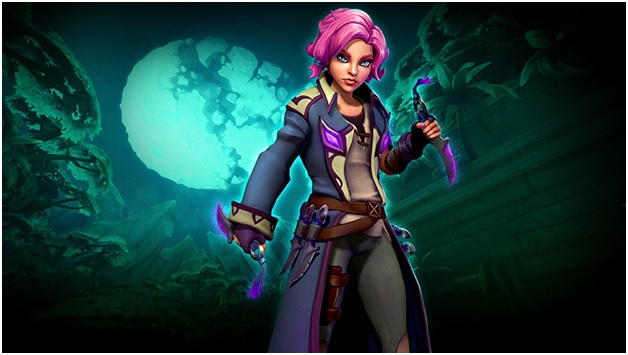 Maeve in Paladins Game for your Gaming PCs
