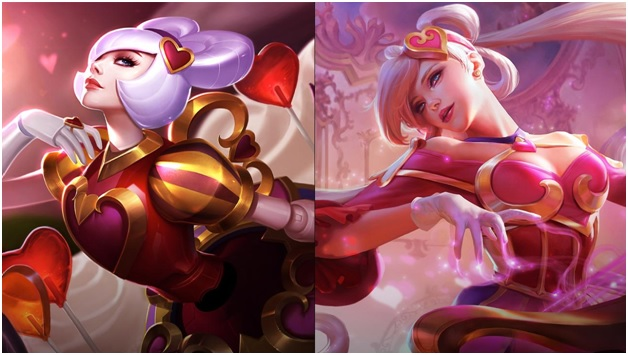 Sweetheart and Heartseeker Skins