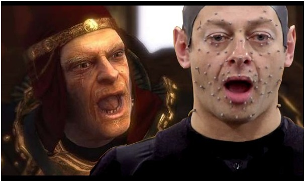 Andy Serkis plays as King Bohan