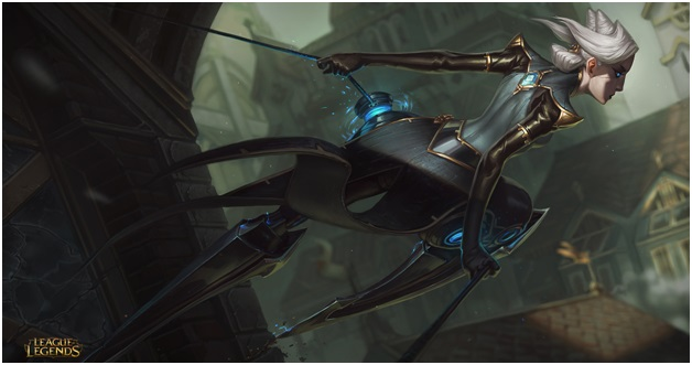 play as Camille on League of Legends