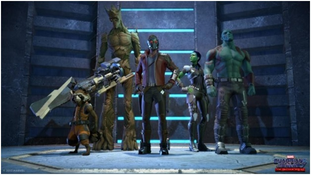 Guardians of Galaxy Telltale Games