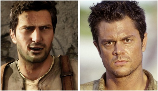 Johnny Knoxville plays as Nathan Drake